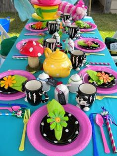 A Charming Affair: Through the Looking Glass...A Mad Hatter Tea Party