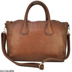 2891fee82c New Designer Large Womens Leather Style Tote Shoulder Bag Handbag Ladies  Brown