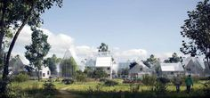 ReGen eco village Fancy life in an eco-village? Welcome to the hi-tech off-grid communities Residents in an eco-village project piloted in the Netherlands will produce solar and biogas power, grow their food and recycle waste into fertiliser Architecture Renovation, Green Architecture, Public Architecture, Off The Grid, Agriculture Verticale, Off Grid Communities, Studio Arthur Casas, Self Sufficient, Vertical Farming