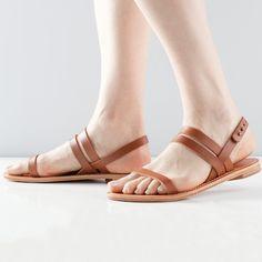 The Women's Summer Sandal Cognac - everlane