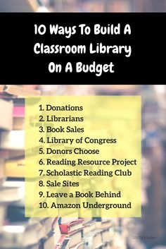 10 Ways To Build A Classroom Library On A Budget - Simply Kinder Kindergarten Freebies, Teaching Kindergarten, Teaching Reading, Guided Reading, Reading Projects, Reading Resources, A Classroom, Classroom Freebies, Classroom Resources