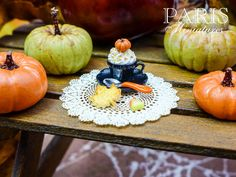 Autumn Cappuccino  12th Scale Miniature Food by ParisMiniatures