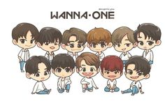 Wanna one fan art, fanart, kpop fanart, drawing wallpaper, cartoon wallpaper Got7 Fanart, Kpop Fanart, Drawing Wallpaper, Cartoon Wallpaper, First Animation, Kpop Drawings, Ha Sungwoon, First Art, Big Love
