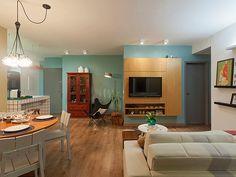 Residência Maynard | Isabela Bethônico Arquitetura. Integração / Sala / Cozinha / Cozy