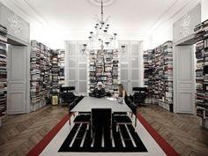 Karl Lagerfeld – le secret de ses bibliothèques | The Blog Déco