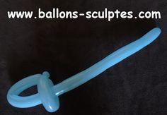 épée en ballon
