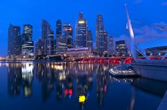 Singapore skyline | Flickr - Photo Sharing!