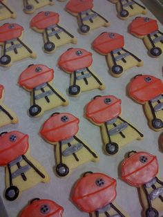Barbecue grill cookies