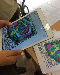"""Profes TIC on Instagram: """"👉Aplicación para colorear en 3D. Descubriendo la realidad aumentada 1- Buscá y descargá la app gratuita QUIVER en tu celu 2- Imprimí los…"""" 3d, Education, Instagram, Augmented Reality, Colouring In, Teaching, Onderwijs, Studying"""