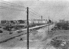 1926 ca. Palermo, Old Photos, Railroad Tracks, Rome, Nostalgia, Gallerie, Statue, Landscape, History