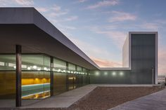 Built by Javier Terrados Estudio de Arquitectura in Arahal, Spain with date 2013. Images by Fernando Alda . Arahal is a small town near Seville that has begun the transformation of an industrial peripheral area into a cultura...