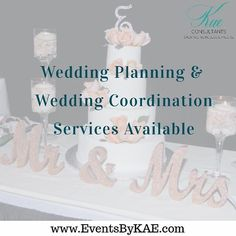 Just a few of the services we provide here at Events By KAE we are so excited that we have a been called upon to work on a few wedding this upcoming season. Preparing for a wedding is so exciting. It makes me think of new beginnings and the start of a new life. Working with each bride is not only filled with challenges but creative vibes and new opportunities to showcase new and exciting ideas. There are so many pro to working with the brides that are very focused opinionated to the brides…