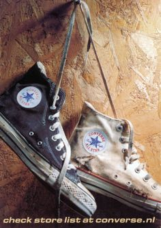 Postcard from Marijke, Netherlands, 28 August 2012 Converse All Star, Converse Logo, Converse Trainers, Converse Shoes, Converse Chuck Taylor, Converse Fashion, Jack Purcell, Shoe Art, Custom Shoes