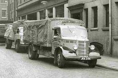 CDs Vintage Trucks, Old Trucks, Bedford Truck, Old Lorries, Road Transport, Train Car, Fire Engine, Commercial Vehicle, Buses