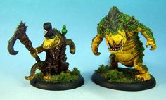 Snapjaw-Wrongeye, Miniature Painting, John Salmond, Table Top Gaming, Privateer Press, Hordes