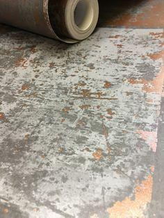 Copper plate wallpaper