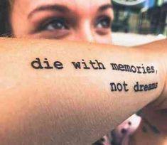 50 stunning and inspirational quote tattoos you& 50 atemberaubende und inspirierende Zitat-Tattoos, die Sie jedes Mal motivieren, … – Best Tattoos 50 stunning and inspiring quote tattoos to motivate you every time - Dream Tattoos, Time Tattoos, Body Art Tattoos, New Tattoos, Sleeve Tattoos, Tatoos, Danty Tattoos, Motivational Tattoos, Inspiring Quote Tattoos
