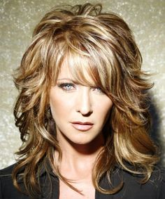Long Hairstyles For Over 50 Long Hairstyles Over 50  Suzanne Somers Layered Haircuttrendy