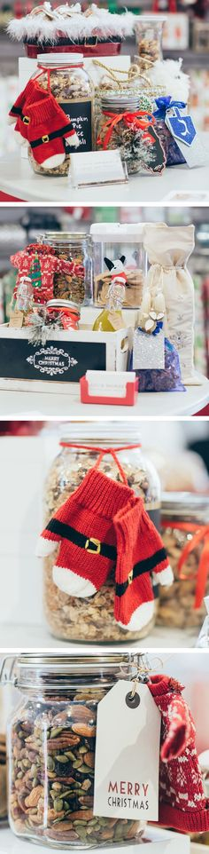 Oh what fun we had when some of our favorite bloggers joined us in our stores this holiday season. They shared some of their easy, homemade gifts all packaged with cute products from our Gift Wrap Wonderland.