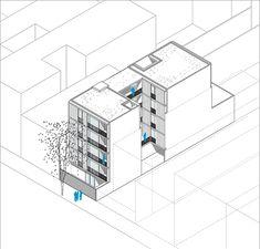 Gallery of ZLA Building / Estudio BaBO - 19