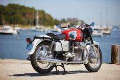 Guzzi enthusiast Paul Harrison restores a rough 1967 Moto Guzzi just in time for the bike's birthday. Moto Guzzi V7 Classic, Classic Motorcycle, Classic Bikes, Moto Guzzi Motorcycles, Cars And Motorcycles, S1000r, Golden Anniversary, Classic Italian, Motorbikes