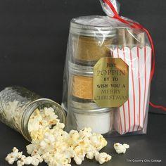 Tasty Popcorn Gift Idea
