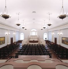 Nauvoo Temple Assembly Room