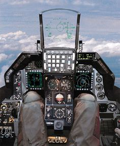F-16 Cockpit - the defacto standard in cockpit design, along with the f15 fo rmodern fighter simpits.  Also used as a basis for mech simpits.
