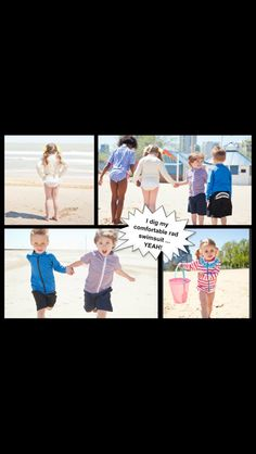 Stylish and hip sun smart swimwear for kids!  SwimZip http://www.SwimZip.com for toddler sun protective Swimwear