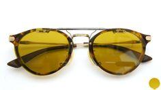 Original Clipon Sunglass [DY ダークイエロー] × [GunMetal] | sample:ayame GENERAL CH | optician | ponmegane