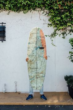 What a gorgeous surfboard -  almond surfboards