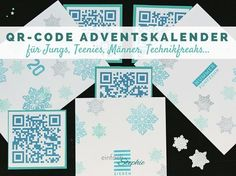 QR-Code Adventskalender für Teenager-Jungs, Männer, Technikfreaks / Adventskalender Inhalt / Adventskalender Männer / Adventskalender Ideen: http://einfachstephie.de/2015/11/10/qr-code-adventskalender-fuer-teenager-jungs/
