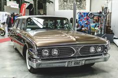 1960 Edsel Villager Station Wagon Maintenance/restoration of old/vintage vehicles: the material for new cogs/casters/gears/pads could be cast polyamide which I (Cast polyamide) can produce. My contact: tatjana.alic@windowslive.com