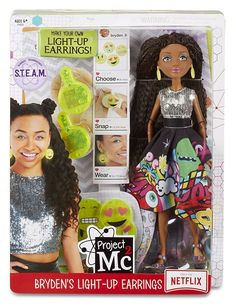 Shop Now for Project Mc2 Experiments with Doll Bryden's Light Up Earrings Toy, huge range of Project Mc2 with worldwide delivery from Bentzen's Emporium Ltd