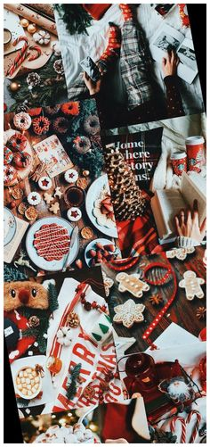 Christmas Collage Wallpaper 19+ | november wallpaper | 2020