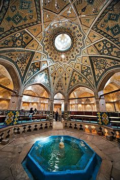 حمام تاریخی سلطان امیر احمد -کاشان Iran, Sultan Amir Ahmad Historic Bath by Ali Majdfar, via Flickr