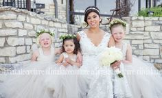 Champagne Cotton Flower Girl Dress by OliviaKateCouture on Etsy, $132.95