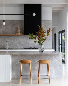 """Hilary Bradford on Instagram: """"Kitchen detail in Brighton house designed by Ross Tang Architects and shortlisted in two categories in the 2019 Houses Awards…"""""""