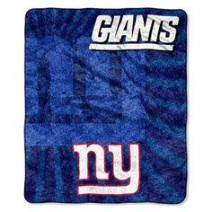 93cecc372 New York Giants Sherpa Blanket