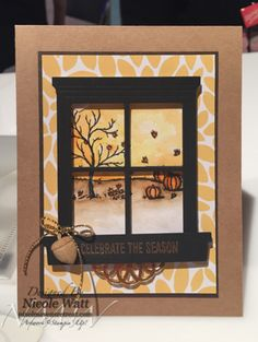 Sneak Peek Stampin' Up! Holiday Catalogue. Happy Scenes Stamp Set, Hearth & Home Thinlts Dies