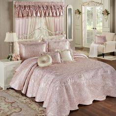 Portia Grande Bedspread Rose Quartz