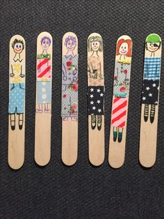 Craft stick dolls #dolls #toys #diy @baronkadebarush
