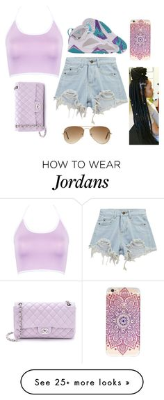 """""""Something You Can Dance To"""" by bossbishh1 on Polyvore featuring WithChic, Chicnova Fashion, Chanel, Retrò and Ray-Ban"""