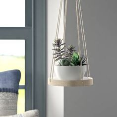 Looking for Jakobe Stone Hanging Planter Mistana ? Check out our picks for the Jakobe Stone Hanging Planter Mistana from the popular stores - all in one. Metal Hanging Planters, Corten Steel Planters, Window Planters, Ceramic Planters, Hanging Plants, Indoor Plants, Planter Pots, Patio Plants, Indoor Garden