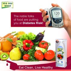 An analysis of 21 studies has warned that exposure to pesticides can increase risk of developing diabetes by 61%. Prevent your family from this life long disease, use Veg Fru Wash. Know more: http:// bit.ly/vegfruwash Buy on Flipkart - bit.ly/vegfruwashflipkart | Amazon - bit.ly/vegfruwashamazon | ShopClues - bit.ly/vegfruwashshopclues