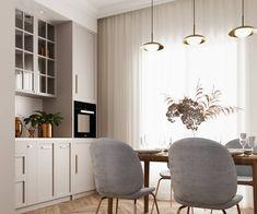 Kitchen Room Design, Home Decor Kitchen, Home Interior Design, Interior Design Kitchen, Home Kitchens, Neoclassical Design, Wall Shelves Design, Condo Living, Beautiful Kitchens