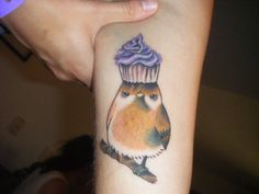 cupcake tattoos | ... cupcake-on-its-head tattoo to add to our collection of cupcake tattoos said the last guy who pined this