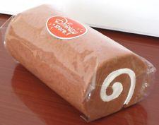 Cake Roll *MILK CHOCOLATE & CREAM* SQUISHY Kawaii Wrist Pad Swiss Roll