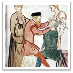 En el inicio de la Edad Media, la odontología se entendía aún con los textos y la praxis relatados en los manuscritos de la Antigua Grecia.