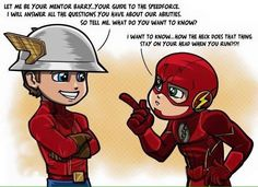 Flash: Barry & Jay
